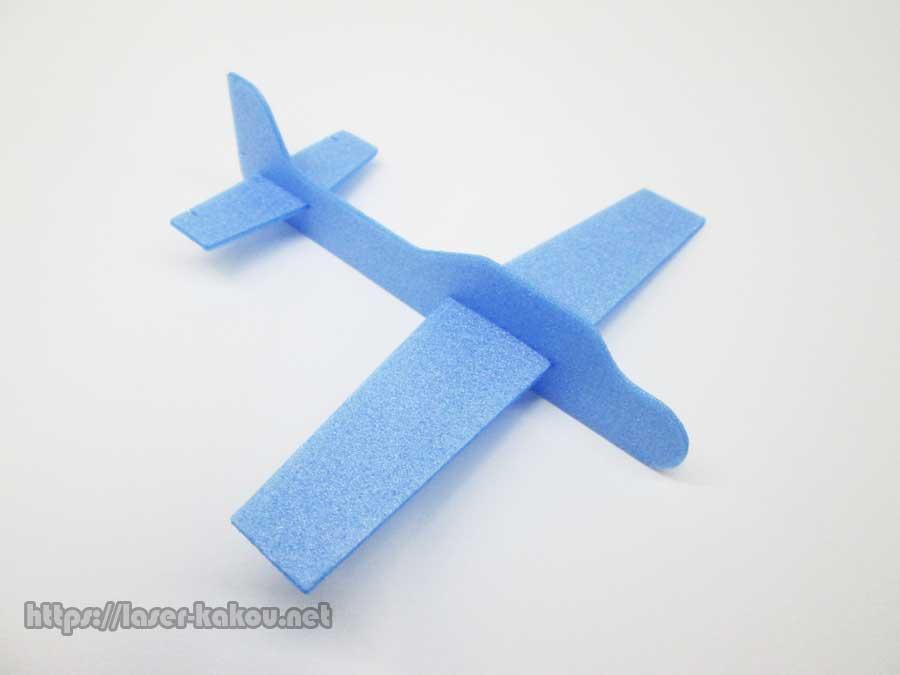 カラーボード 飛行機 レーザーカット6